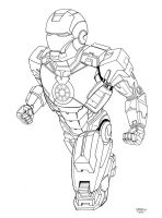 Iron Man MK7 by AJSabino
