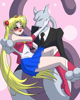 Sailor_Moon Meets Sexy Mewtwo by Natty354