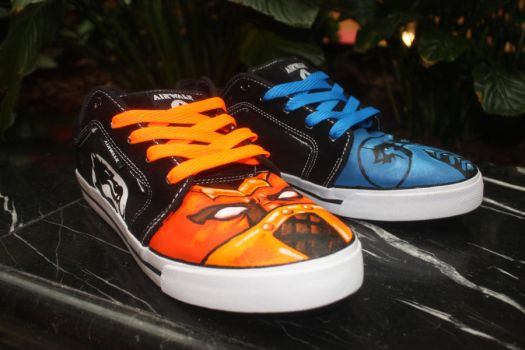 Mortal Kombat Shoes Right Side by Harpo-exe