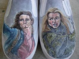 Elizabeth and Will Shoes by lilhazelstar