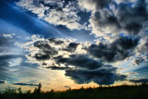 Duluth Sky HDR by entropy462