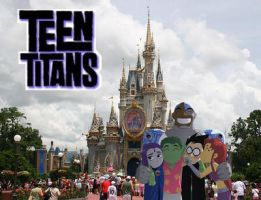 Teen Titans in Orlando by teentitans