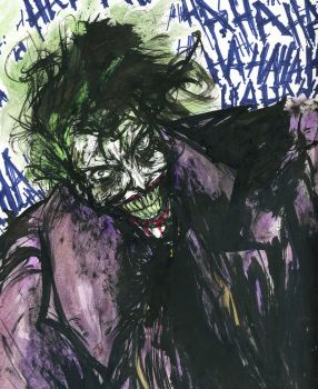 The Joker by theworldjoker