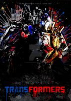 Optimus Prime Poster by LaWomanWarrior