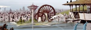 Water Wheels by PiratoLoco