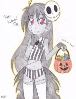 Old draw: Trick or Treat? by 19DarkArtist94