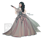[closed] Adopt - Pastel Courtesan by fionadoesadopts