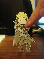 Paper Child - Legolas by talespirit