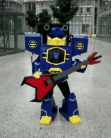-Animated Soundwave Cosplay- by Rumblebee88