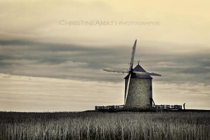 The man and the mill by ChristineAmat