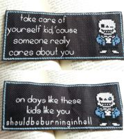 Sans Bookmark by glancesherlock
