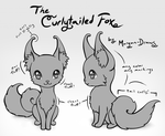 MYO Curlytail Contest + Raffle! by Morgan-Draws