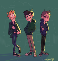 It's Pretty Swell (Eddsworld) by Choppywings