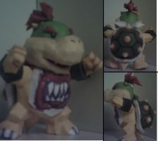 Bowser Jr Papercraft by nin-mario64