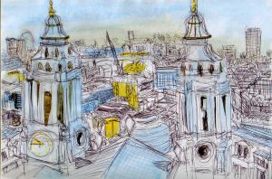London Littered by BumbleBeeLoved