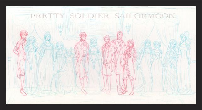 Sailormoon Vanity Fair WIP by Maseiya