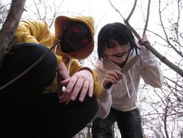 Creepypasta cosplay 1 by little-devil-soul