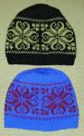 Selbu fair-isle hats by KnitLizzy
