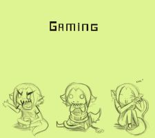 The art of Gaming by Avibroso