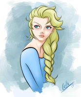 Ice Queen Elsa by Eli150693