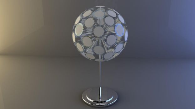 Cinema 4D -- Lamp ??? by SMOKEYoriginalHD