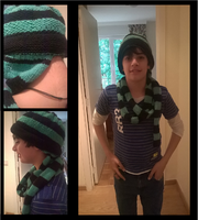 The S-W Patent Hat-Scarf by Mugiwara-no-Eli