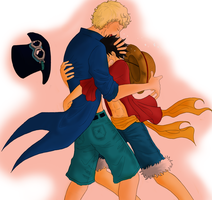 Sabo's Back ! by ASLpuppies