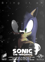 Sonic The Hedgehog Movie (fake) Poster : Sonic by DjSMP