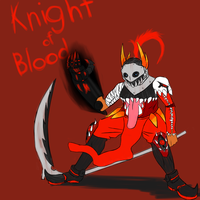 Knight of Blood by enigmatic-me