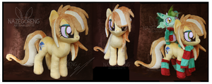 Trade: November OC custom Plush by Nazegoreng