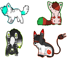 Sticker Batch 4 by Doctor-Kiba