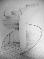 Spiral staircase by Maylich