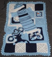 Baby Gift set- Finished by crochetamommy