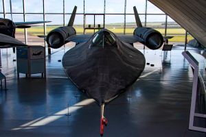 Lockheed SR-71A Blackbird by Daniel-Wales-Images