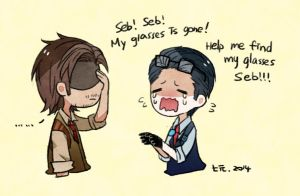 Seb_help_me_find_my_glasses by ChanmanNo-7