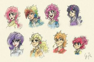 Same but different by GlancoJusticar