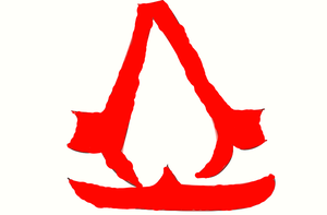 Horrible Assassin's Creed logo. by lexilovestrains