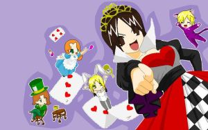 The red queen rulez by LubzAnime