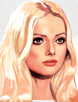 Barbara Bouchet study by JustinCoffee
