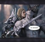 Arthas for blizzard contest by scourge-minion