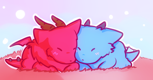 Fluffy Love by 13ulbasaur