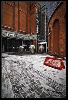 The winter Poznan. by ink-gp