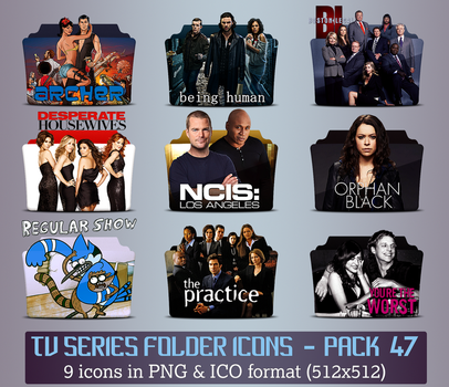 TV Series - Icon Pack 47 by apollojr