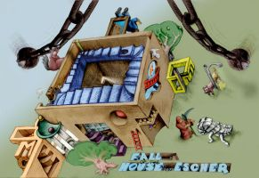 Fall of the House of Escher by sethness