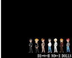 death note dolls by Mysterious-L
