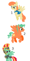 pegasus family adopts set 1 by woofwoofsg1