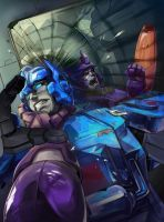 SG Galvatron cover colors by Kyao by PiusInk