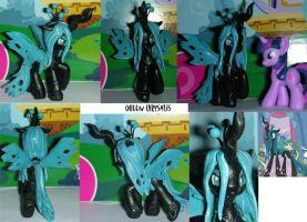 The Changeling Queen: Chrysalis by RedCrosseKnight
