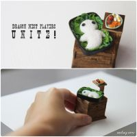 Construction of a miniature bento. by Aiclay