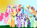 Some Ponies by hawkon101